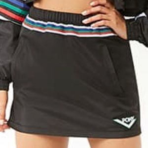 Pony wind breaker skirt